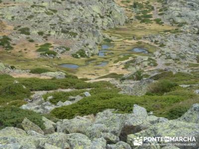 Lagunas de Peñalara - Parque Natural de Peñalara;ruta de senderismo;sierra de irati